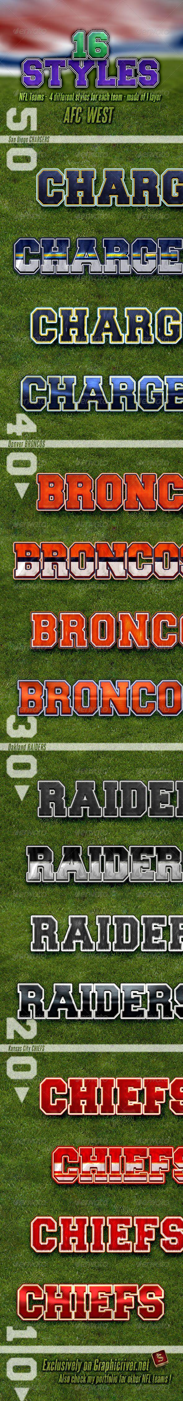 NFL Football Styles - 4