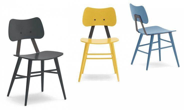 Stoličky Stoly - Jedálenské drevené NOVINKA - Jedálenská stolička C LOLA BAR.