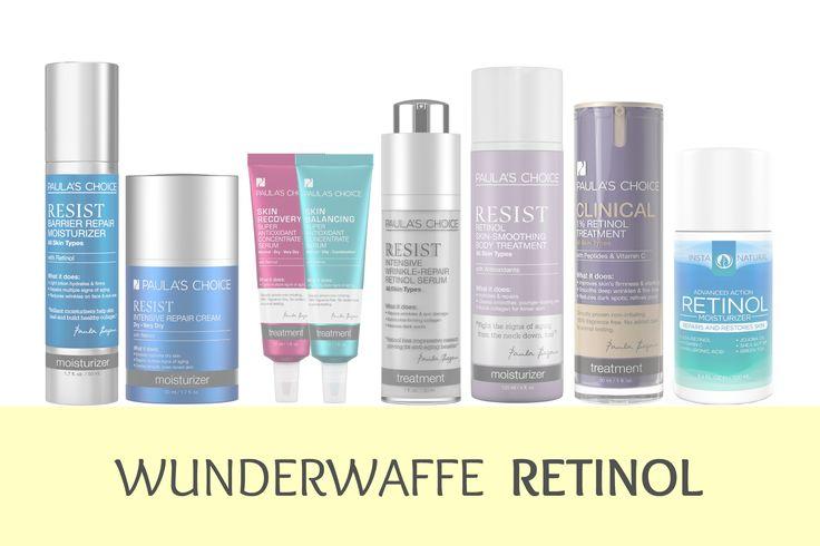 Wir lieben Retinol bzw. Tretinoin! Es ist das beste Anti-Aging Mittel, neben Sonnenschutz! Und für uns die beste Altersvorsorge für unsere Haut.