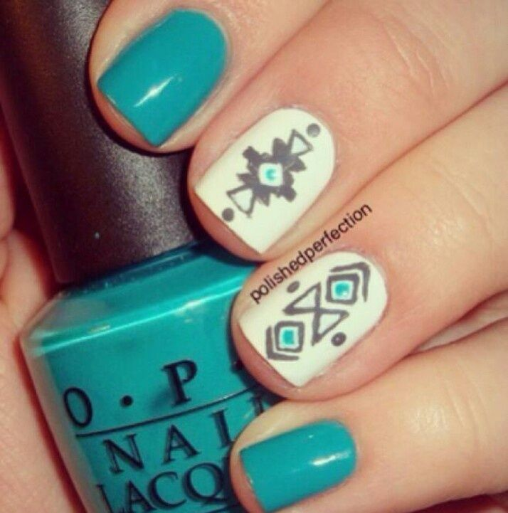 Native American Tribal Designs | Native American nail design