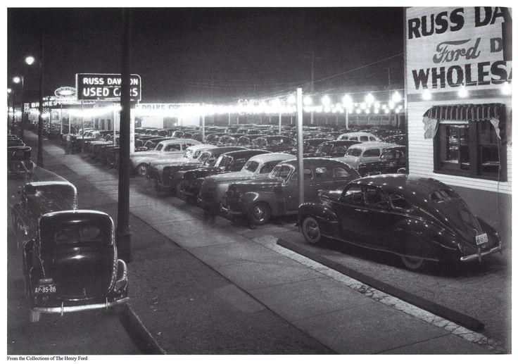 1941 Russ Dawson Ford Dealership, Detroit, Michigan