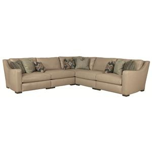 Braxton High End Casual And Contemporary Sectional Sofa By Bernhardt    Baeru0027s Furniture   Sofa