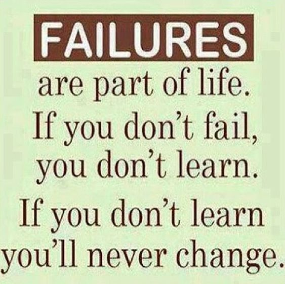 Inspirational Quotes About Failure: Failure Is Not An Option