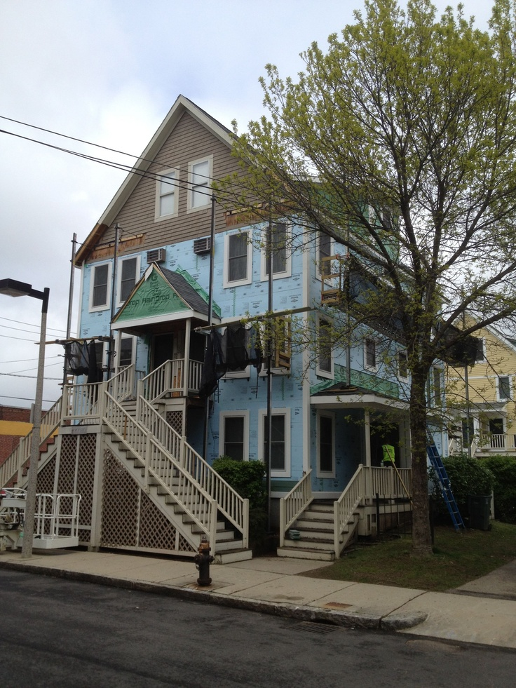 Lucerne Gardens Status : Complete Location : Dorchester MA Job Type:  Weatherization/siding/