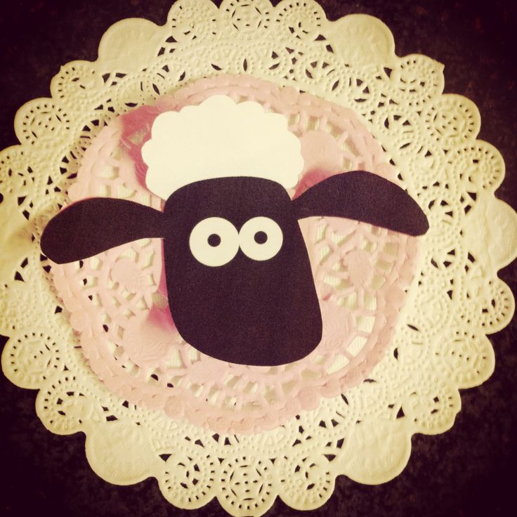 Garland for Shaun the Sheep party