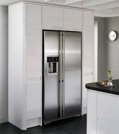 kitchen with built in larder unit - Google Search