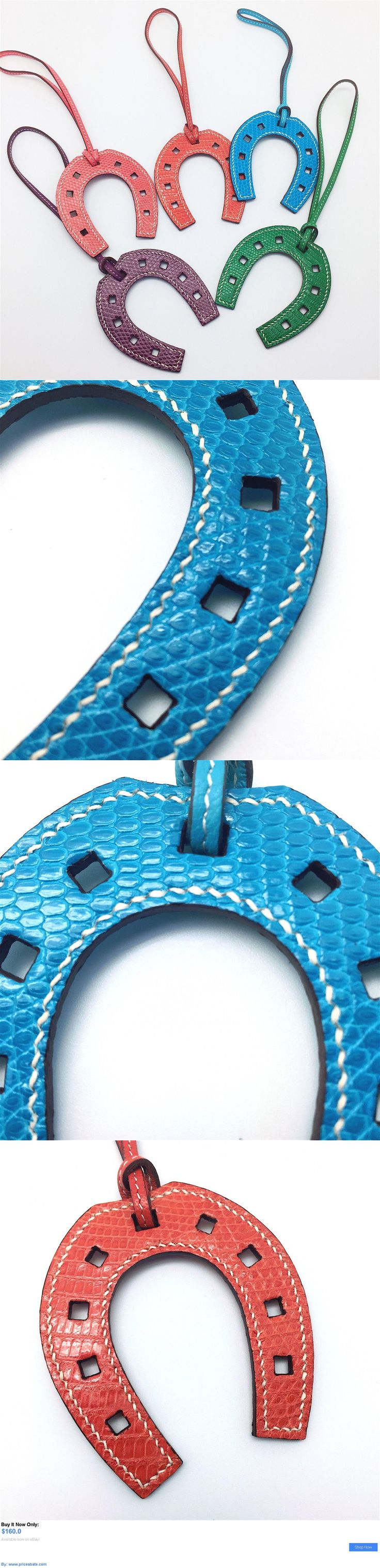 Women Bags And Accessories: Handmade Lizard Skin Horse Shoe Charm Perfect For Hermes Birkin Kelly BUY IT NOW ONLY: $160.0 #priceabateWomenBagsAndAccessories OR #priceabate