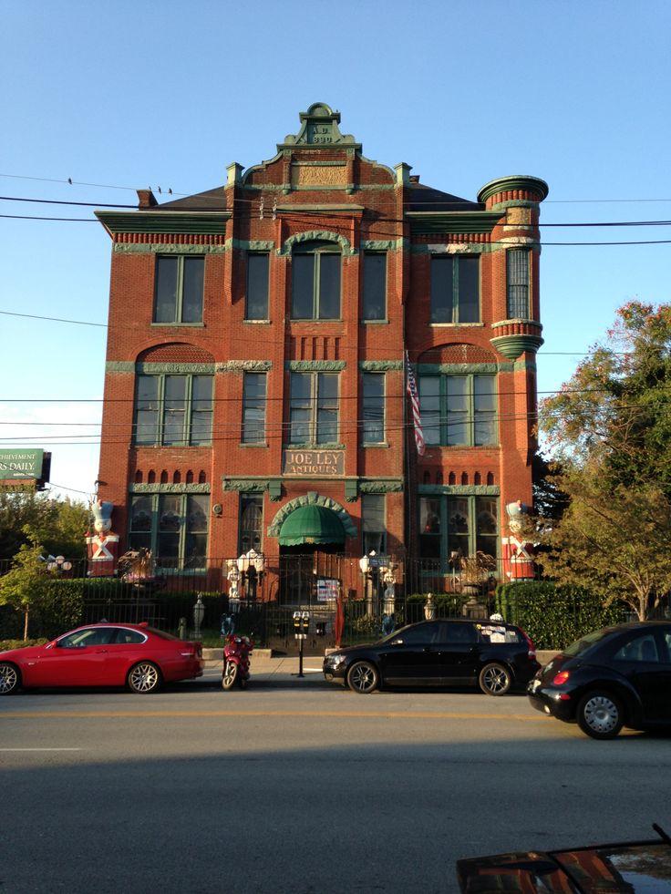 Joe Ley's Antiques on Market Street in NuLu Louisville