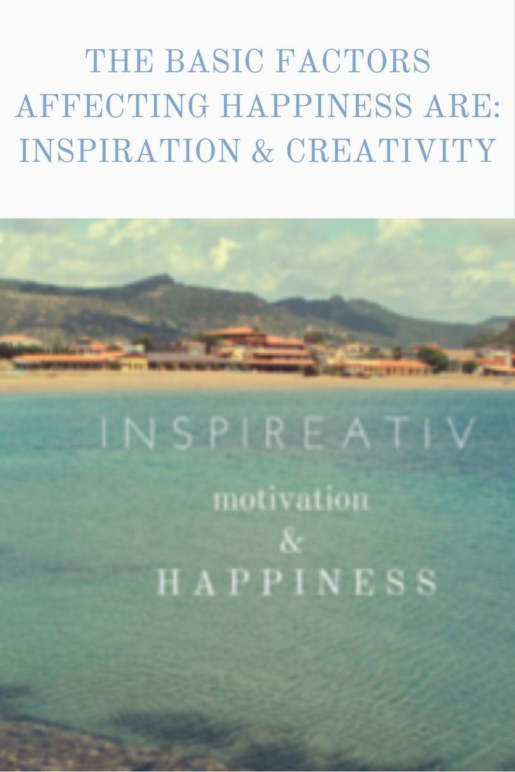www.inspireativ.com  People ask themselves about happiness and how to achieve this state. There are thousands of answers. Each person has his own definition of the happiness. Don't accept the recipe for happiness on this blog. But I would like to show elements which in my opinion could make the life easier and happiest.