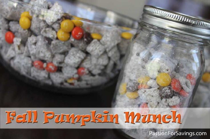 Fall Pumpkin Munch Recipe! Perfect for Parties and Gifts!