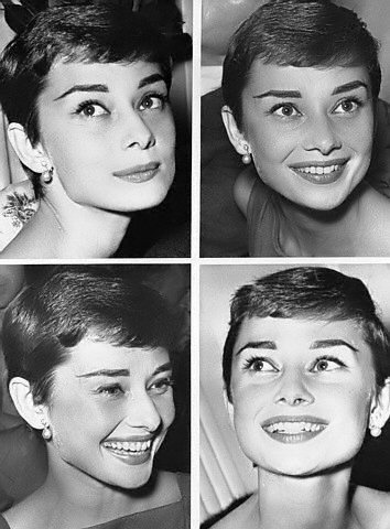 Audrey Hepburn beautiful from every angle