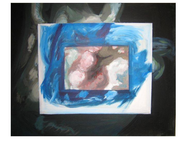 'Zoom', 100x70cm. Acrílico sobre lienzo.