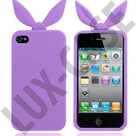 iPhone 4 violetit pupu suojakuoret!