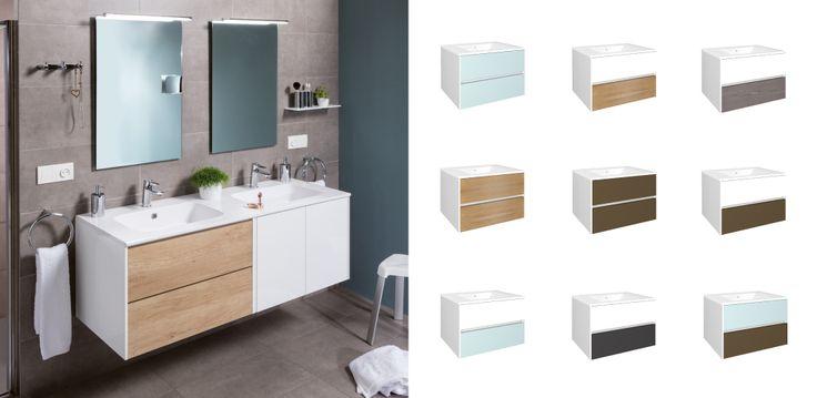 Mueble de #baño de la serie Zoom del Grupo Gamma