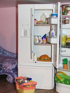 Artsy Fartsy: Barbie's Kitchen after redo