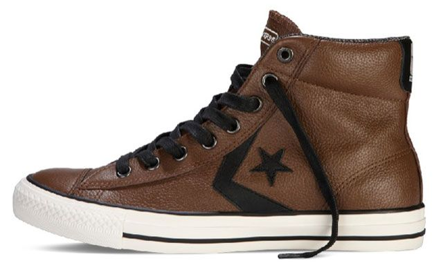 Converse Star Player Premium Leather « Chocolate »