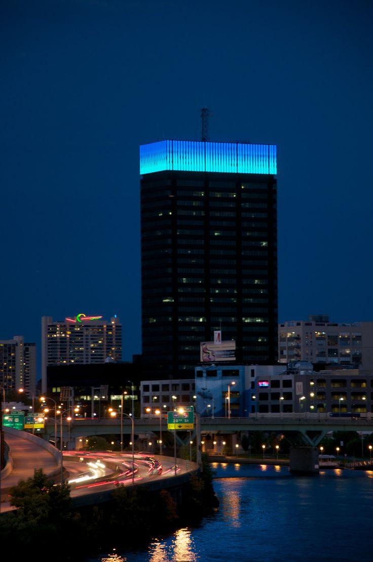 Building Exterior: PECO Crown Lights
