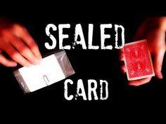 Sealed Card - Amazing card trick REVEALED! - YouTube