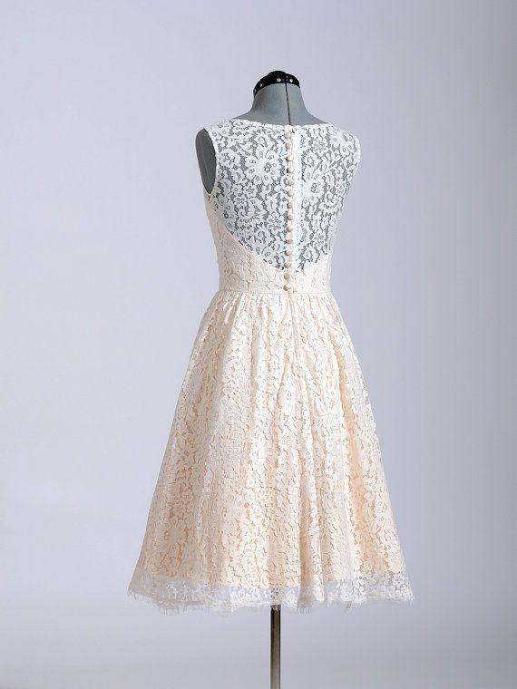 Hochzeitskleid Brautkleid Hochzeit Spitzenkleid von ELDesignStudio