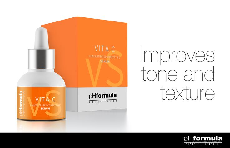 VITA C CONCENTRATED CORRECTIVE SERUM - Gives skin a youthful appearance - Reduces fine lines and improves tone and texture #skincare #Vitamin #antiaging #pHformula