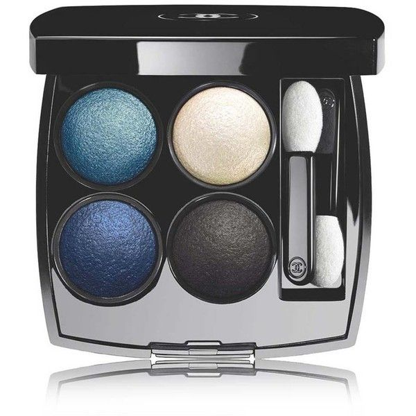 CHANEL Multi-Effect Quadra Eyeshadow - Colour TissÉ Jazz (719.045 IDR) ❤ liked on Polyvore featuring beauty products, makeup, eye makeup, eyeshadow, chanel eye shadow, creamy eyeshadow, chanel eyeshadow, chanel eye makeup and chanel