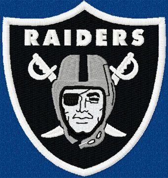 Embroidery Machine Designs Olkand Raiders Football