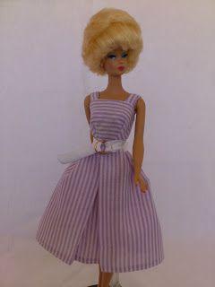 Molde para Barbie - Réplica do vestido Suburban Shopper - 1959