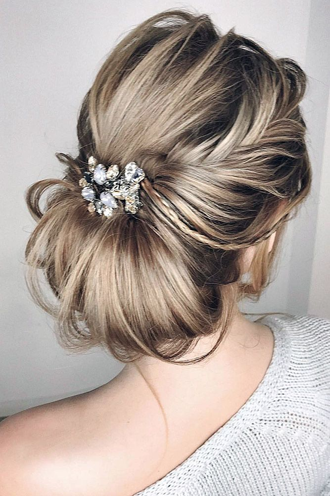 Best 25+ Wedding bun hairstyles ideas on Pinterest