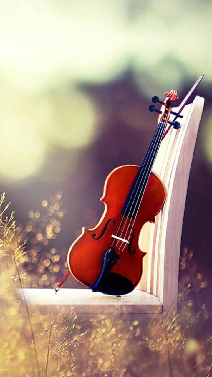 Beautiful Violin Wallpaper