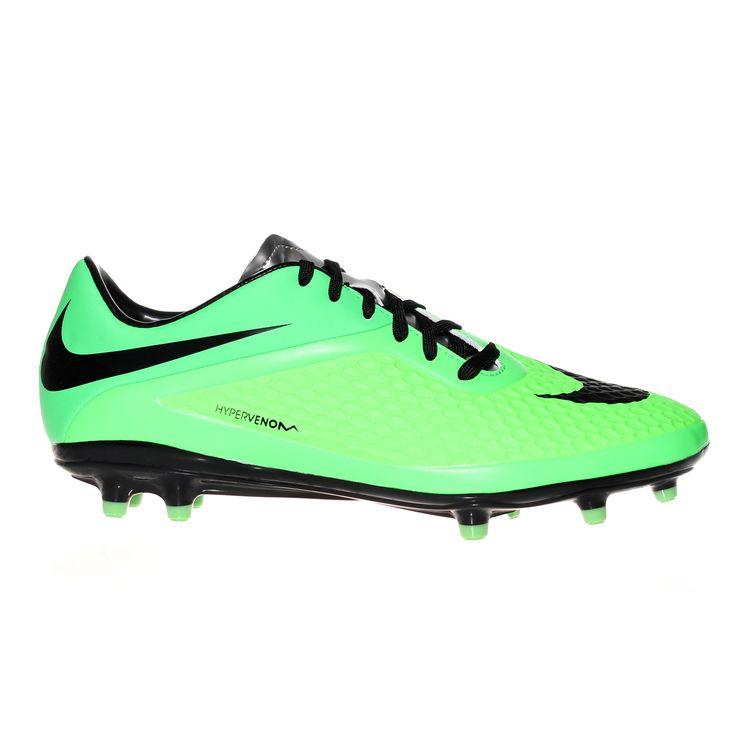 Nike Hypervenom Phelon Firm Ground Football Boot - Neon Lime / Black /  Poison Green