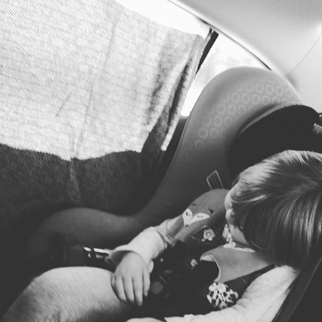 Another way to make my Turkish towel useful while travelling. A sun shade on the rental car so my 2 year old can sleep. #SAMMIMIS #happylife #turkishtowel #Alanyablack #sunshade #lovethemwhentheyaresleeping