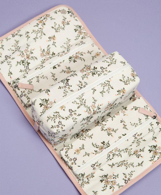 Несессер с цветочным узором soft summer - Несессеры.