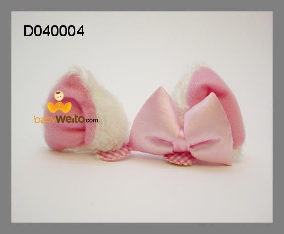 D040004  Jepit rambut Marrie (sepasang)  Made in Disneyland Hongkong  Warna : sesuai gambar  IDR 25*