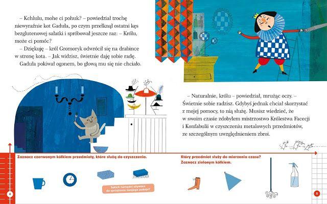 polska ilustracja dla dzieci: Nowość - Król Gromoryk i niezwykła zbroja