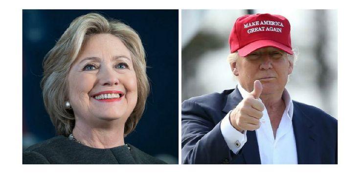 Trump eller Clinton - Infogram, charts & infographics