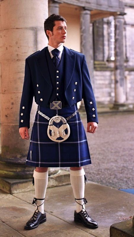 Matching Saltire outfit