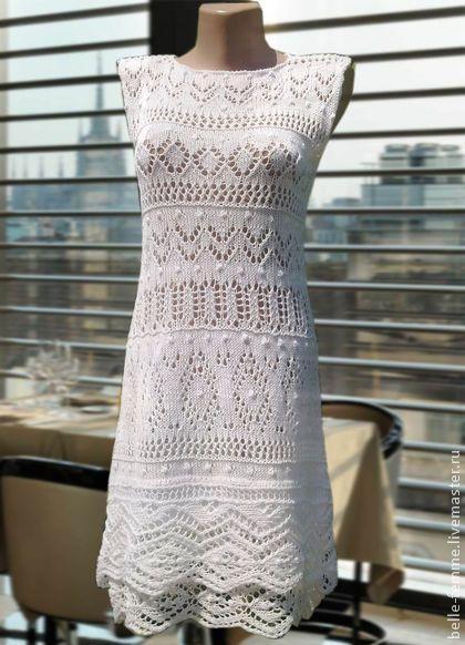 """Платья ручной работы. Ярмарка Мастеров - ручная работа. Купить """"Белоснежка"""". Handmade. Белый, белое летнее платье"""