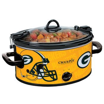 Green Bay Packers Crock-Pot at the Packers Pro Shop http://www.packersproshop.com/sku/2021303006/