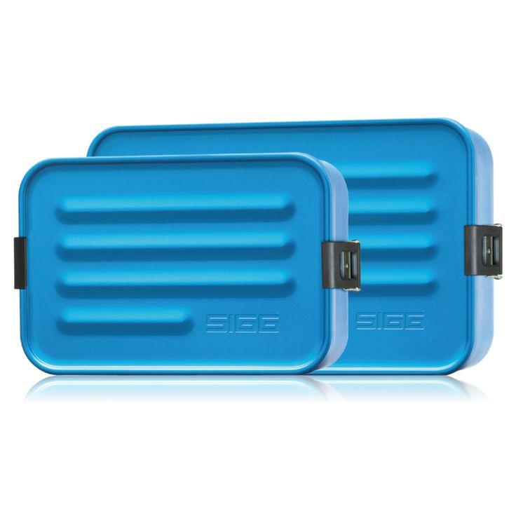 SIGG - Aluminium Box Brotdose, Metallic Blue