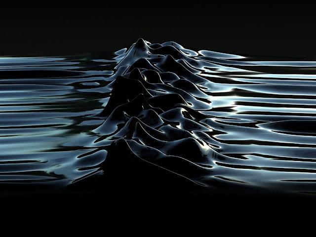 """Unknown Pleasures 2003"" Latex :: by morph & Peter Saville"
