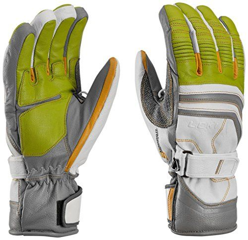 Leki Fuse Retro S Ski Glove  LimeWhiteGraphite Large * Be sure to check out this awesome product. (Amazon affiliate link)