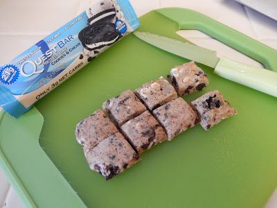 theworldaccordingtoeggface: Quest Protein Bar Cookies
