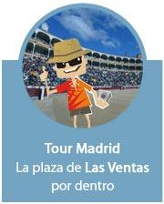 Tour Madrid por la Plaza de Toros de Las Ventas.  Visita la plaza de toros por dentro - Tauroentrada.com