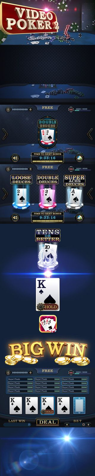 Poker game design, UI Designer on ArtStation at…