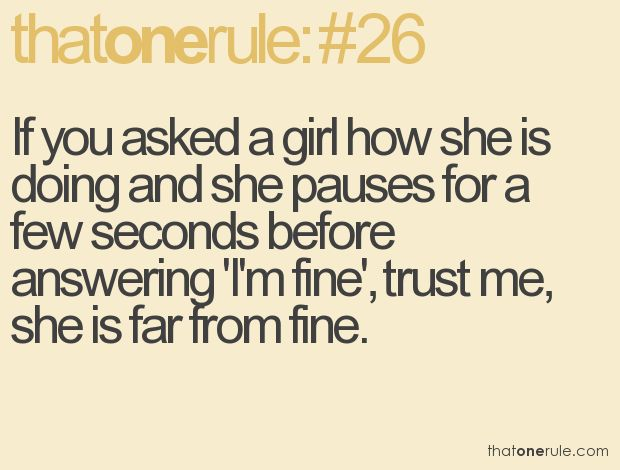 Every Girl Is Like This.