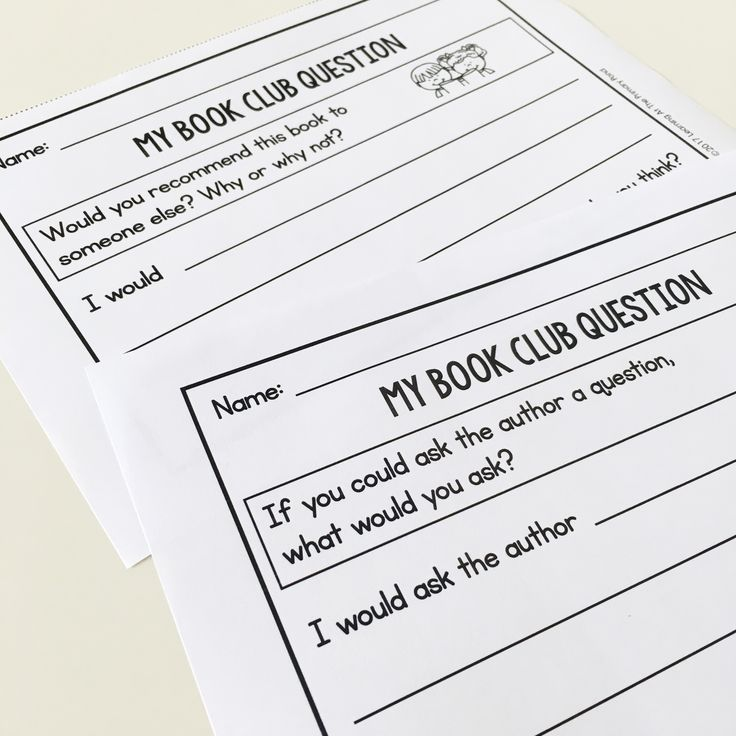 Book club activities for first graders! This is great if you want to implement literature circles in your first grade classroom.