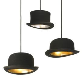 Love these top hat pendant lights from Heals http://www.heals.co.uk/pendants+chandeliers/innermost-wooster-top-hat-pendant-light-by-jake-phipps/invt/287846