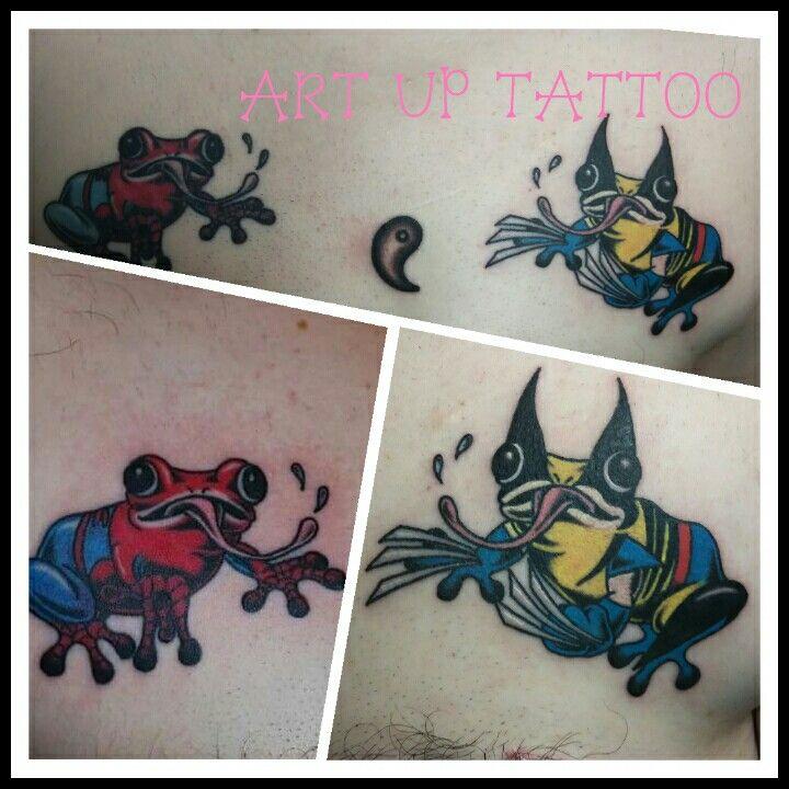 アメコミキャラ大好きのリピーターさんです! 以前彫ったスパイダーマンのデザインに合わせて、ウルヴァリンをデザインしてみました!  #tattoo #tattoos #tattooart #tattooartist #tattooshop #art #bodyart #ink #AmericanComicCharacter #タトゥー #タトゥースタジオ #インク #アート #ボディアート #アートアップタトゥー #アメコミキャラ #スパイダーマン #ウルヴァリン #キャラクター #東京タトゥー #日野タトゥー #祐 #女性 #女性彫師