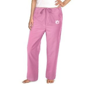 Auburn Pink Scrubs Pants DRAWSTRING BOTTOMS Pink Auburn University Logo For HER - DRAWSTRING Waist -Officially Licensed NCAA College Logo Apparel Unique GIFT Ideas For Mom Nurses Ladies Students Graduation (Apparel)  http://documentaries.me.uk/other.php?p=B0051PYSH0  B0051PYSH0