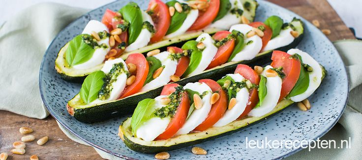 Courgette caprese - Leuke recepten